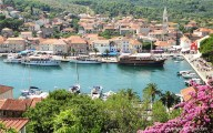 Jelsa on the island of Hvar