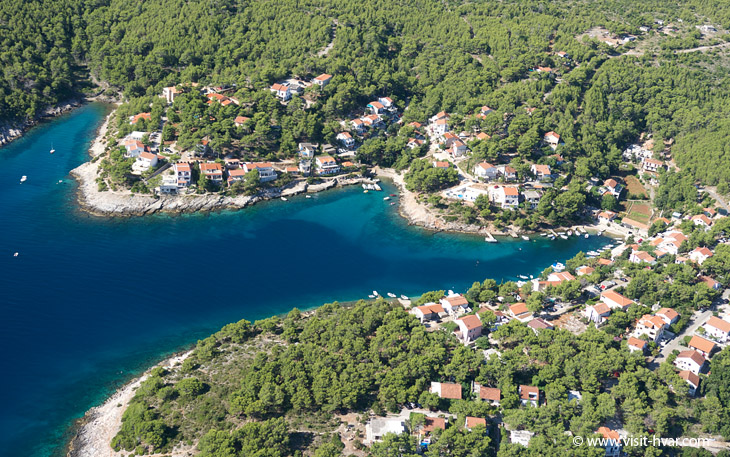 Basina on the island Hvar, Dalmatia, Croatia