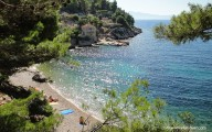 Bay Veprinova near village Gdinj on the island Hvar, Dalmatia, Croatia