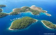 Ždrilca nearby the island Hvar, Dalmatia, Croatia