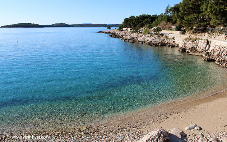 Winter on the island of Hvar