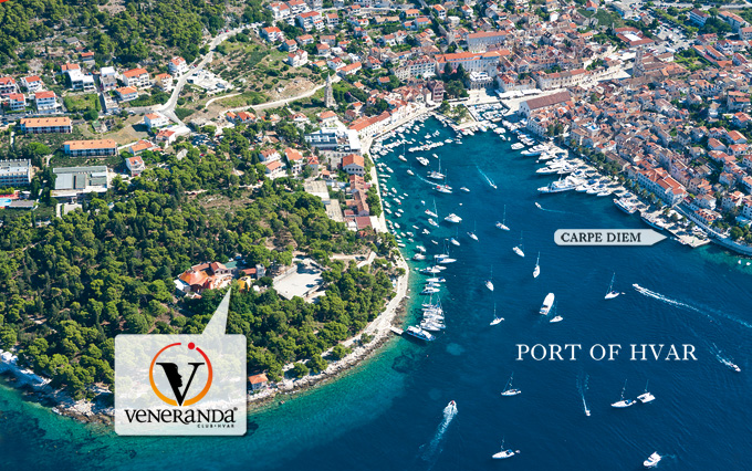 Veneranda club Hvar - 2 minute walk from city center