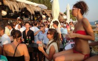 Hula Hula Hvar beach club - town of Hvar