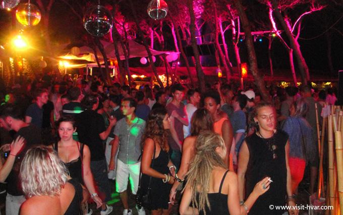 Carpe Diem beach Stipanska, night party