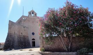 Church fort of St. Mary in Vrboska, Island Hvar