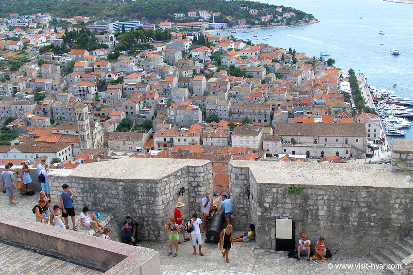 Fortress Fortica Španjola, Hvar town - Island Hvar