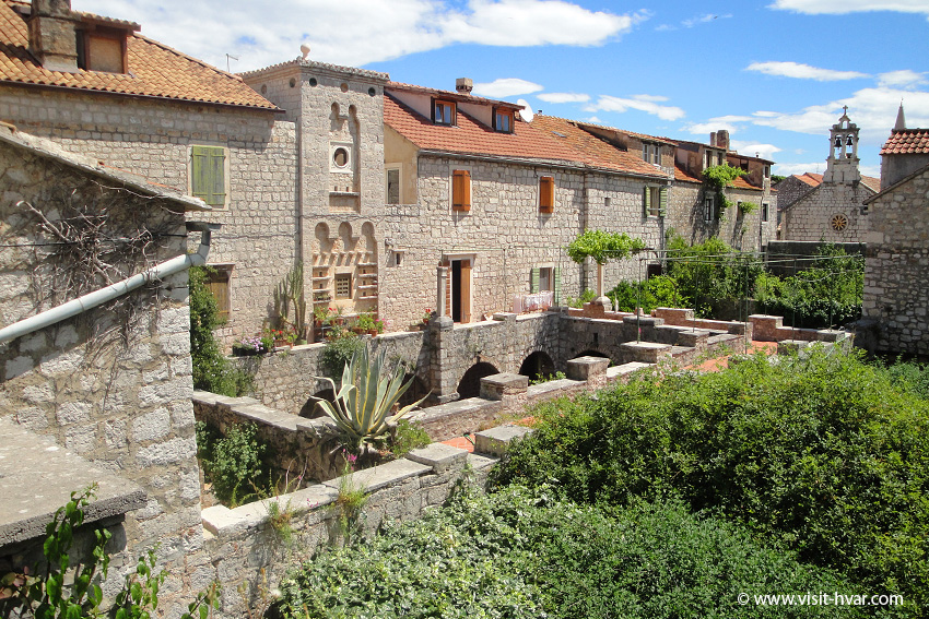 Tvrdalj – Stari Grad on the Island of Hvar