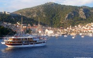The harbour of Hvar town