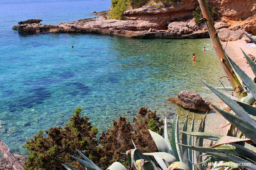 Plaże na wyspie Hvar - Gromin Dolac