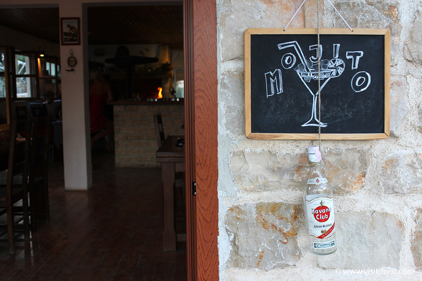 Restaurant Zorače - bay Zaraće, island Hvar