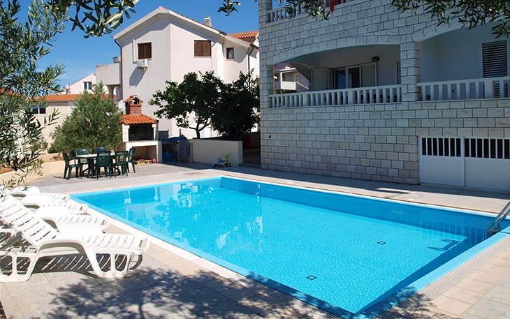 Luxury Villa Jules with pool in the town of Hvar